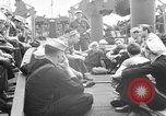 Image of American troops English Channel, 1944, second 18 stock footage video 65675051828