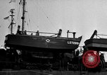 Image of loaded LST English Channel, 1944, second 21 stock footage video 65675051834