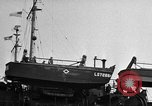 Image of loaded LST English Channel, 1944, second 22 stock footage video 65675051834