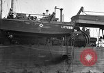 Image of loaded LST English Channel, 1944, second 26 stock footage video 65675051834