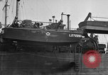 Image of loaded LST English Channel, 1944, second 27 stock footage video 65675051834
