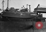 Image of loaded LST English Channel, 1944, second 28 stock footage video 65675051834