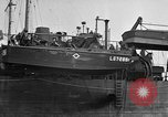 Image of loaded LST English Channel, 1944, second 29 stock footage video 65675051834