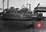 Image of loaded LST English Channel, 1944, second 30 stock footage video 65675051834