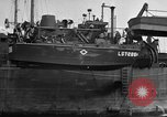 Image of loaded LST English Channel, 1944, second 31 stock footage video 65675051834