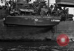 Image of loaded LST English Channel, 1944, second 32 stock footage video 65675051834
