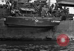 Image of loaded LST English Channel, 1944, second 34 stock footage video 65675051834