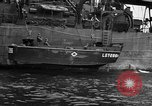 Image of loaded LST English Channel, 1944, second 36 stock footage video 65675051834