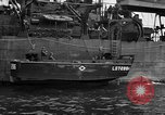 Image of loaded LST English Channel, 1944, second 37 stock footage video 65675051834