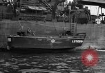 Image of loaded LST English Channel, 1944, second 38 stock footage video 65675051834
