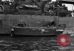Image of loaded LST English Channel, 1944, second 40 stock footage video 65675051834