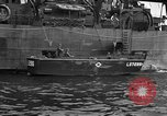 Image of loaded LST English Channel, 1944, second 42 stock footage video 65675051834