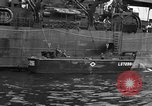 Image of loaded LST English Channel, 1944, second 43 stock footage video 65675051834