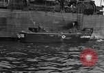 Image of loaded LST English Channel, 1944, second 44 stock footage video 65675051834
