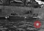Image of loaded LST English Channel, 1944, second 45 stock footage video 65675051834
