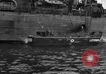 Image of loaded LST English Channel, 1944, second 46 stock footage video 65675051834