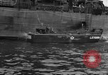 Image of loaded LST English Channel, 1944, second 47 stock footage video 65675051834