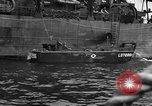 Image of loaded LST English Channel, 1944, second 48 stock footage video 65675051834