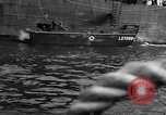 Image of loaded LST English Channel, 1944, second 49 stock footage video 65675051834