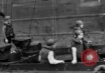 Image of loaded LST English Channel, 1944, second 53 stock footage video 65675051834