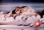 Image of F 86F aircraft Korea, 1953, second 30 stock footage video 65675051867