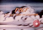 Image of F 86F aircraft Korea, 1953, second 31 stock footage video 65675051867