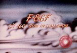 Image of F 86F aircraft Korea, 1953, second 34 stock footage video 65675051867