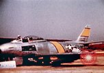 Image of F 86F aircraft Korea, 1953, second 35 stock footage video 65675051867