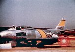 Image of F 86F aircraft Korea, 1953, second 38 stock footage video 65675051867