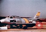 Image of F 86F aircraft Korea, 1953, second 54 stock footage video 65675051867