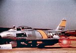 Image of F 86F aircraft Korea, 1953, second 58 stock footage video 65675051867
