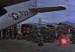 Image of C-123 aircraft Vietnam, 1965, second 53 stock footage video 65675051881
