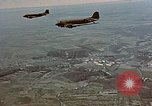 Image of aircraft C 47s Chartres France, 1945, second 39 stock footage video 65675051883