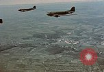 Image of aircraft C 47s Chartres France, 1945, second 40 stock footage video 65675051883