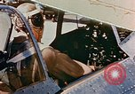 Image of aircraft P 47 Corsica France Alto Air Base, 1944, second 1 stock footage video 65675051889