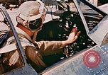Image of aircraft P 47 Corsica France Alto Air Base, 1944, second 10 stock footage video 65675051889