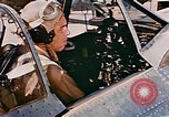 Image of aircraft P 47 Corsica France Alto Air Base, 1944, second 12 stock footage video 65675051889
