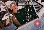 Image of aircraft P 47 Corsica France Alto Air Base, 1944, second 13 stock footage video 65675051889