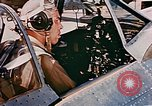 Image of aircraft P 47 Corsica France Alto Air Base, 1944, second 14 stock footage video 65675051889