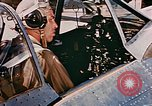 Image of aircraft P 47 Corsica France Alto Air Base, 1944, second 15 stock footage video 65675051889