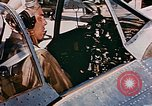 Image of aircraft P 47 Corsica France Alto Air Base, 1944, second 16 stock footage video 65675051889