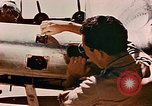 Image of aircraft P 47 Corsica France Alto Air Base, 1944, second 44 stock footage video 65675051889