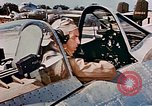 Image of aircraft P 47 Corsica France Alto Air Base, 1944, second 58 stock footage video 65675051889