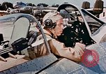 Image of aircraft P 47 Corsica France Alto Air Base, 1944, second 59 stock footage video 65675051889
