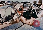 Image of aircraft P 47 Corsica France Alto Air Base, 1944, second 60 stock footage video 65675051889