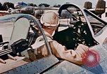 Image of aircraft P 47 Corsica France Alto Air Base, 1944, second 61 stock footage video 65675051889