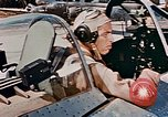 Image of aircraft P 47 Corsica France Alto Air Base, 1944, second 62 stock footage video 65675051889