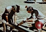 Image of Construction of Officer's Club at Alto Air Base Corsica France , 1944, second 19 stock footage video 65675051899