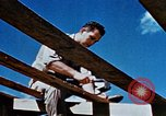 Image of Construction of Officer's Club at Alto Air Base Corsica France , 1944, second 27 stock footage video 65675051899