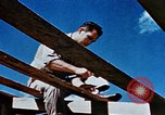 Image of Construction of Officer's Club at Alto Air Base Corsica France , 1944, second 28 stock footage video 65675051899